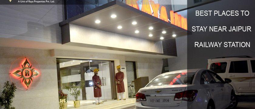 Best Hotels near Jaipur Railway Station - Raya Inn